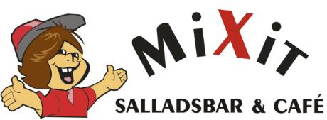 MiXit Salladsbar & Café Logotyp